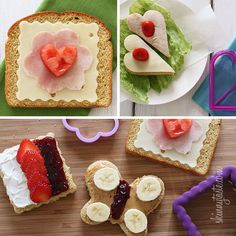 Tips on Making School Lunches - This is the cutest! When I worked as a preschool teacher assistant and saw the cute lunches I vowed that I would do them same for my future children one day!