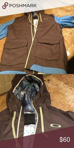 Oakley ski coat Oakley oversized ski jacket size M Oakley Jackets & Coats Ski & Snowboard