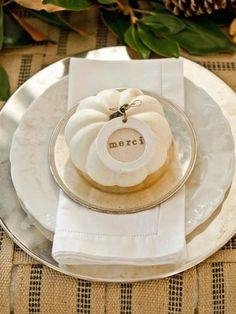 elegant pure white thanksgiving