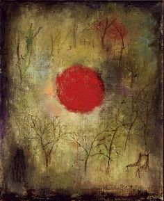 Zao Wou-Ki (1920-2013) ~ Oil on Canvas 1950 ~ 64 x 50 cm