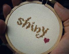 Firefly Cross Stitch Kit - SHINY