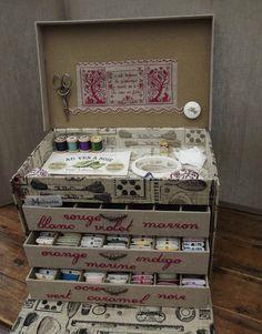 Boîte à cartonnettes