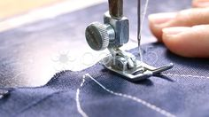 Woman working with sewing machine, Close up HD Clip. - Stock Footage | by koko_tewan