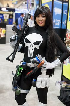 Lady Punisher - San Diego Comic-Con (SDCC) 2013