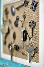 Resultado de imagen para wall key holder diy
