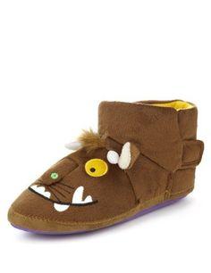 Gruffalo Slippers - Marks & Spencer