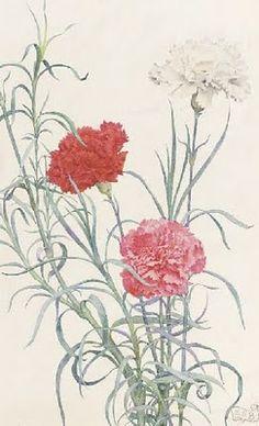 Eleanor Fortescue Brickdale  (1871-1945) - Carnations