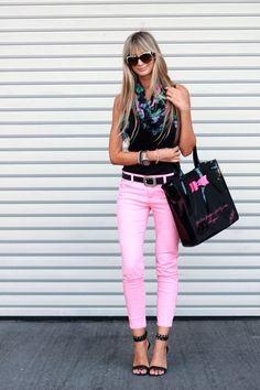 pink #streetstyle #fashion