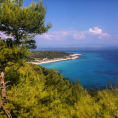Halkidiki Greece, Island 2, Greece Islands, Places To Go, River, Outdoor, Outdoors, Rivers, Outdoor Games