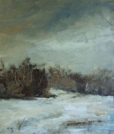 """clouds & ice"" original fine art by Parastoo Ganjei"