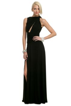 Love this dress. Don't worry about the price, you'll be gorgeous for a night!  Wanted Cutout Gown by Plein Sud