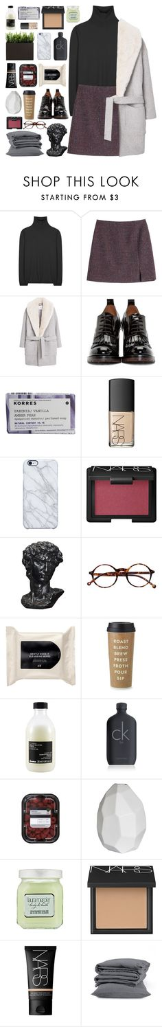 """WON'T YOU STAY TILL THE A.M?"" by talibird25 ❤ liked on Polyvore featuring Jil Sander, Carven, MANGO, Valentino, Korres, NARS Cosmetics, Uncommon, Retrò, H&M and Kate Spade"