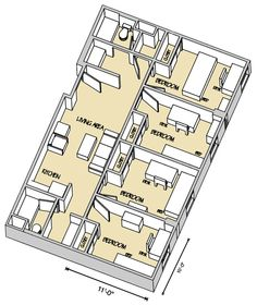1000 images about let 39 s see the residence halls on for Floor plans brown university