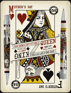 ручки Retro 51 Tornado Queen and King Queen Of Hearts Card, Bamboo Pen, Back Tattoos For Guys, Vintage Pens, Fine Pens, Card Tattoo, Best Pens, Rollerball Pen, Playing Cards