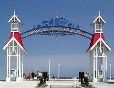 The Boardwalk in Ocean City, MD