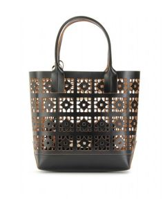 Marni Edition - LASER-CUT LEATHER TOTE