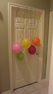 Fun surprise on a birthday morning :)