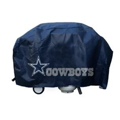 Dallas Cowboys deluxe grill cover.