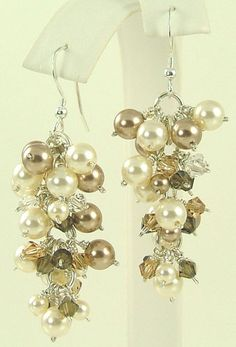 Earrings never leave home without them! Pull out my wedding earrings and wear them often.