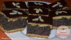 Meggyes-mákos sütemény