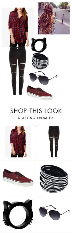 """""""cute"""" by magcon-o2l-fo-life ❤ liked on Polyvore featuring GUESS, River Island, Vans and Kenneth Cole Reaction"""