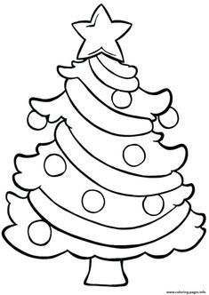 Christmas Coloring Pages for Kids. 20 Christmas Coloring Pages for Kids. Coloring Pages Christmas Coloring for Kids Free Easy Colorful Christmas Tree, Christmas Colors, Simple Christmas, Christmas Art, Christmas Pictures To Color, Google Christmas, Childrens Christmas, Elegant Christmas, Xmas Tree