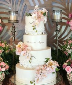 Big Cakes, Beautiful Cakes, Our Wedding, Cake Decorating, Wedding Cakes, Brunch, Marriage, Candy, Table Decorations