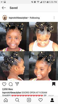Braids For Kids Black Ideas Children Hair 53 Ideas Braids For Kids Black Ideas Children Hair 53 Idea Lil Girl Hairstyles, Black Kids Hairstyles, Natural Hairstyles For Kids, Kids Braided Hairstyles, Princess Hairstyles, Natural Hair Styles, Braids For Kids, Girls Braids, Kid Braid Styles