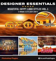Designer Essentials Egypt Logo Styles Vol.1 by GraphixRiver