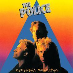The Police Album Covers | The Police – Zenyatta Mondatta album cover