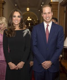 4/10/2014: State Reception at Government House, with Prince William (Wellington, New Zealand)