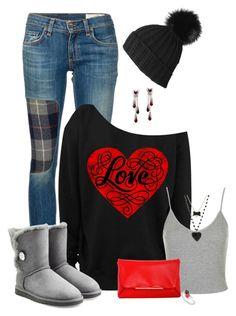 Love by laaudra-rasco on Polyvore featuring polyvore, fashion, style, Topshop, rag & bone/JEAN, UGG Australia, Lanvin, Betsey Johnson, women's clothing, women's fashion, women, female, woman, misses and juniors