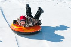 Snow Tubing at Ober Gatlinburg - http://www.parksidecabinrentals.com/blog/ober-gatlinburg-ski-resort-opens-season/