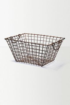 Gathered Basket €40 (for holding what's to be tossed?)