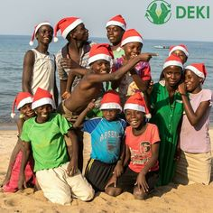 Merry Christmas from all of us here at Deki! #christmas #opportunitynotpoverty #microfinance #beach #lendtoday