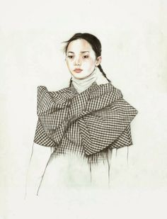 Do you like my tight sweater ? - Caroline Andrieu: Xiao Wen Ju for Marc by Marc Jacobs