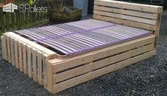 Idea for a Pallet Bed Frame