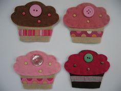Cupcake Fridge Magnet
