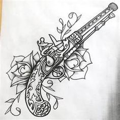 Guns And Roses Tattoo... I want my boyfriend to get this on his arm