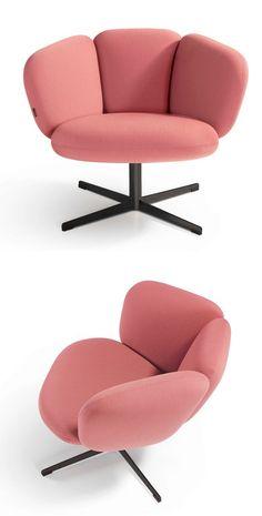 Armchair BRAS by Artifort | #design Khodi Feiz @artifort #seating #lounge…