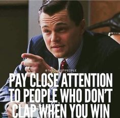 Not everyone truly has your back, or is happy when you succeed ... Friends or not, pay attention to those people ...