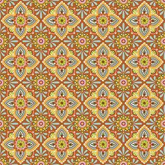 Ceramique in Rust~ Folky Dokey Collection by Mary Tanana