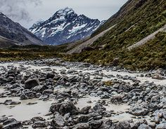"""Check out new work on my @Behance portfolio: """"Mount Cook"""" http://be.net/gallery/55550599/Mount-Cook"""