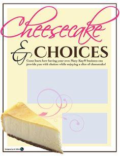 MaryKay® Invites  http://www.blog.qtoffice.com/cheesecake-invititations/
