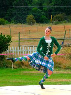 If my college had highland dancers, we would totally wear this tartan <3 Dress Lorne, Solid Diamond Blue, 2 marl