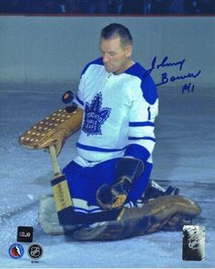Johnny Bower Hockey Goalie, Hockey Games, Hockey Players, Ice Hockey, Maple Leafs Hockey, Nfl Fans, Toronto Maple Leafs, Nhl, Cleveland