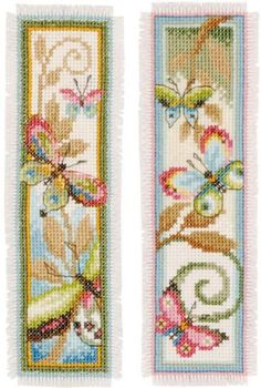 Cross Stitch Bookmarks Pictures