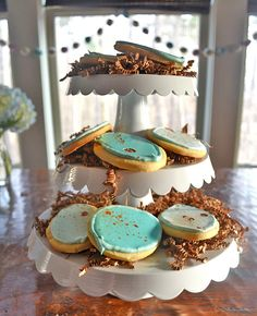Robins Egg Cookies