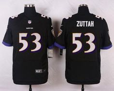 NFL Jersey's Pro Line Womens Baltimore Ravens Jeremy Zuttah Team Color Jersey