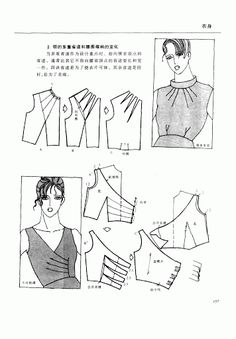 Chinese method of pattern making- Darts on a bodice - Svet Lana - Picasa Albums Web